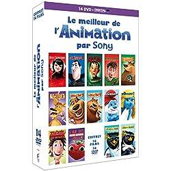 Le Meilleur de l'Animation par Sony - Coffret 14 DVD [DVD + Copie digitale]