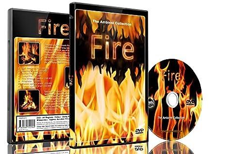Feuer DVD - Feuer gefilmt in HD - Endlosschleife Kamine, Lagerfeuer, Holzfeuer (Collection 4 Dvd-set)