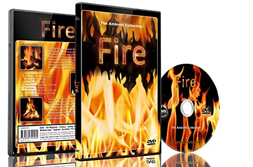 The Ambient Collection Fire DVD Shot in HD - Looping Scenes of Fireplaces,Camp Fires,Wood Filres, Log Fire