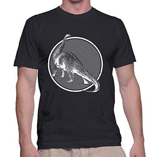 Zenzzle - Camiseta - Cuello redondo - Manga corta - Hombre Black5 Medium