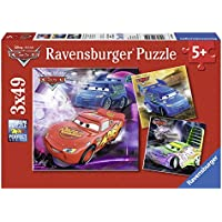 Ravensburger Disney Cars 3 X 49 Piece Puzzles