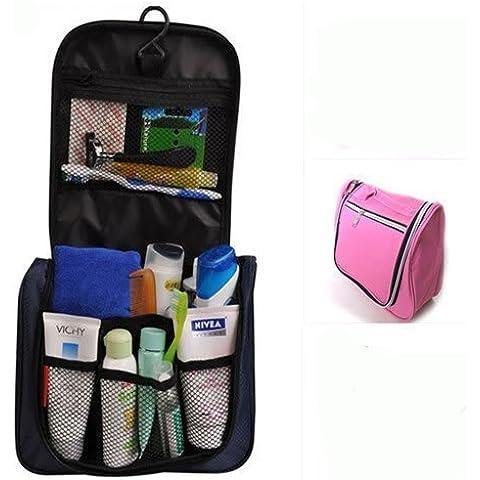 Dansuet Viaggi toeletta Hanging trucco cosmetico di bellezza Wash Bag borsa cerniera dell'organizzatore, Cosmetic Beauty Bag Wash per le donne