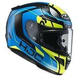 HJC Motorradhelm RPHA 11 Chakri MC24HSF, Blau/Gelb, Größe L