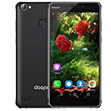 DOOPRO C1 Pro Smartphone 4G Android 6.0 (Qualcomm MSM8909 Quad-Core 1.3GHz, 5.3'' IPS Schermo, 2GB RAM 16GB ROM, 2MP+8MP Camera, Fingerprint ID, Dual SIM, Batteria 4200mAh,Super Power Saving Mode) Nero