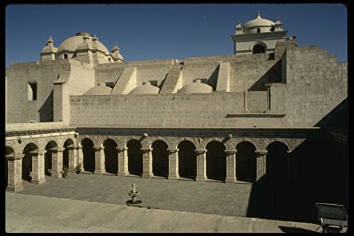 459011 Cloister Of Jesuit Priests La Compania Arequipa Peru A4 Photo Poster Print 10x8