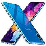 TesRank Samsung Galaxy A50 Case, Slim Clear Soft TPU Gel