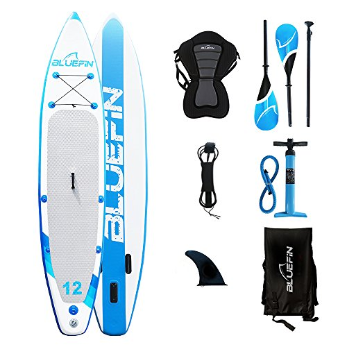 Bluefin SUP aufblasbar Stehe Paddelbrett auf iSUP Paddle Board Bündeln