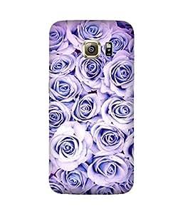 Violet Rose Samsung Galaxy S6 Edge Case