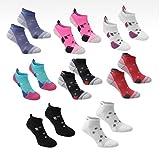 Pair Karrimor Womens Running Trainer Ankle Socks Ladies Size 4-8 x 11 Colours
