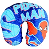 Oytra Neck Pillow For Travel (Size 26 Cm | Stuff - Beans Filling | Soft Fabric | Cartoon Printed) Sleep Easy In Bus, Train, Airplane Or Car | Cushion For Baby, Kids & Adults (Spiderman)
