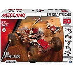 Meccano - 6026306 - Jeu de Construction - Course du Désert 20 Modèles
