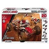Spin Master Meccano 6026306 - Aventura en el Desierto, para Construir 20 Diferentes vehículos