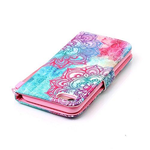 XFAY HX439【Eine Vielzahl von Mustern 】iPhone 7plus Handyhülle Case für iPhone 7plus Hülle im Bookstyle, PU Leder Flip Wallet Case Cover Schutzhülle für Apple iPhone 7plus(5.5 Zoll) Schale Handyhülle C Farbe-14