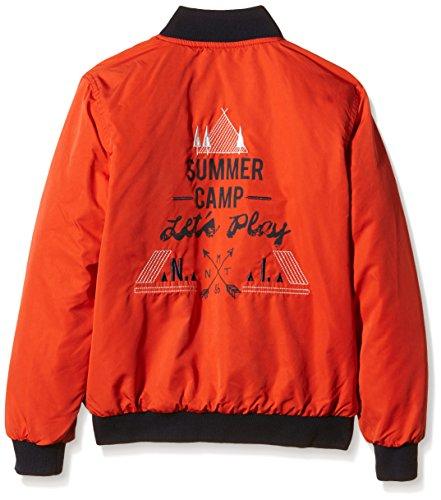 NAME IT Jungen Jacke Nitmento K Quilt Rev Jacket B Red 116 - 2