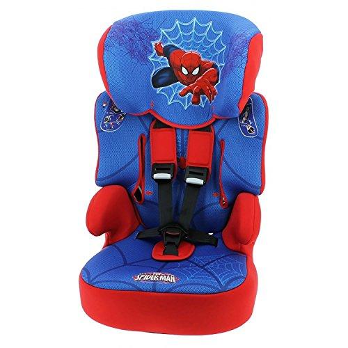 mycarsit Disney Spiderman hohe Rückenlehne booster Autositz, Spiderman