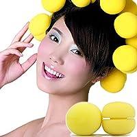 Bigodino di capelli non fa male spugna rotolo parrucchiere strumenti servono funghi capelli bigodino sonno volume 6