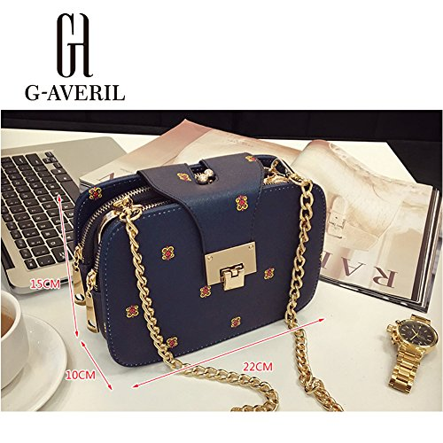 G-AVERIL, Borsa a mano donna Nero Black Black