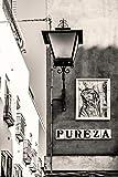 Foundry Poster Calle Pureza en Sevilla Pureza Street