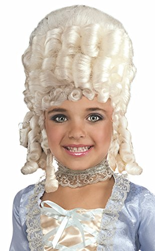 Forum Novelties, Inc Child Marie Antoinette Wig Standard (Marie Antoinette Kids Kostüm)