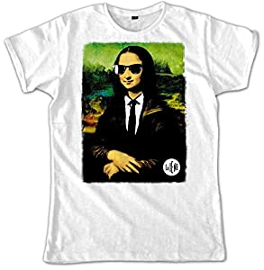 Video Delta - Le Iene Color Gioconda Camiseta, Para hombre, de talla XL