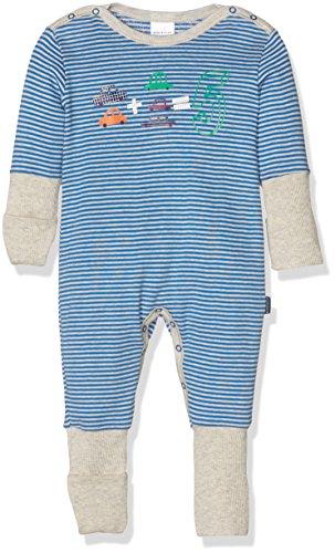 Schiesser AG Schiesser Jungen Zweiteiliger Schlafanzug Baby Anzug mit Vario, (blau 800), 56