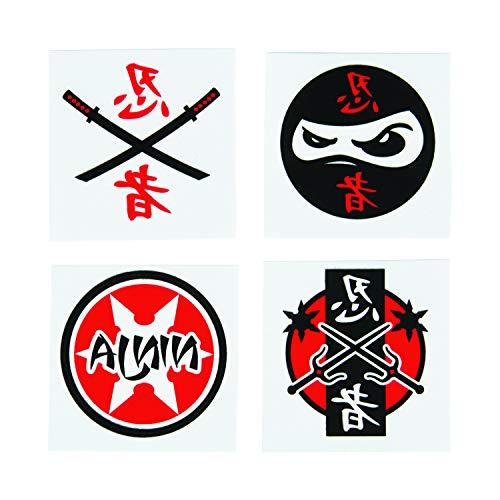 er Tattoos 36 Stück Kindergeburtstag Mitgebsel Mottoparty mit Palandi® Sticker ()