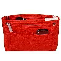 VANCORE Multi Pockets Women's Organiser Handbag Insert Tidy Travel Bag Cosmetic Pocket