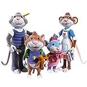 Topo Tip - figure Set per bambini - la famiglia di TipPiccolo Tip the Mouse vive con la famiglia in una grande casa vicino alla foresta. Con papà, mamma e la sua sorellina Tippy, ha un sacco di divertimento e il piacere con il suo amico Teddy...