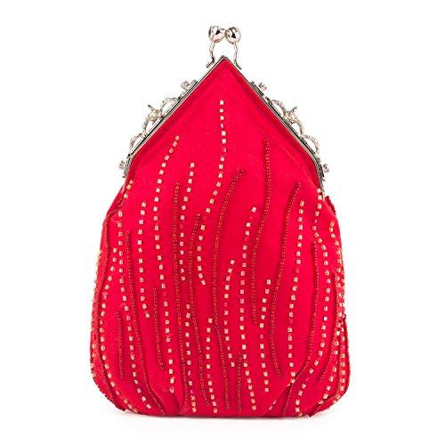 Farfalla 90386, Pochette donna Rosso (rosso)