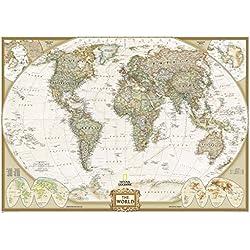 Executive Weltkarte, politisch 3-teilig: 1:15360000 (Reference - World)