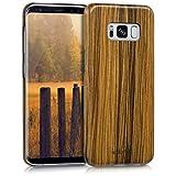 kalibri-Holz-Case-Hlle-fr-Samsung-Galaxy-S8-Handy-Cover-Schutzhlle-aus-Echt-Holz-und-Kunststoff-aus-Lindenholz-in-Braun