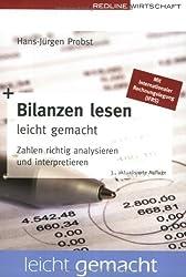 Bilanzen lesen leicht gemacht. Zahlen richtig analysieren und interpretieren