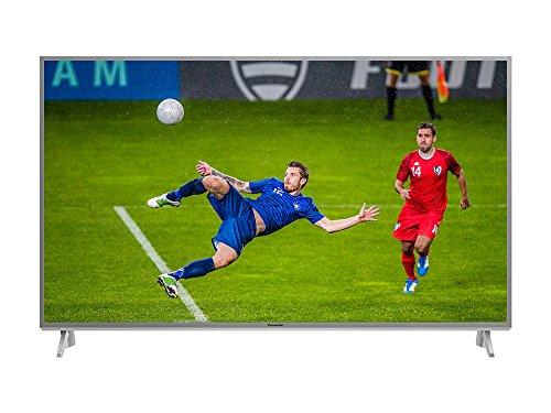 Panasonic TX-49FXW654S 4K UHD TV 49 Zoll (123 cm) in silber (LED Fernseher silber mit Backlight, Smart TV, HDR, Quattro Tuner) [Energieklasse A]