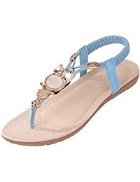 Sandalen für Frauen Offenen Zeh Dick Unten Flip Flop Groß Wilden Strand Schuhe, Rot, 39