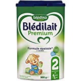 Blédina - Blédilait Premium 2ème âge - 0 à 6 mois - Lot de 3x900g