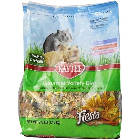 Kaytee Fiesta Hamster/gerbil 2.5lb (5 Lb Hamster)