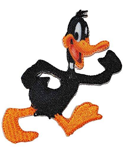 bgelbild-looney-tunes-ente-daffy-duck-65-cm-8-cm-comic-figur-aufnher-applikation-gewebter-flicken-au