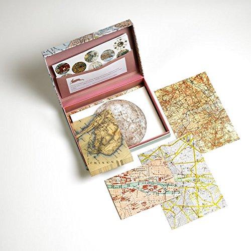 PEPIN PRESS Plan de Ville Set de Correspondance A5 40 feuilles/enveloppes