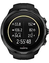 Suunto, Spartan Sport Wrist HR, Montre GPS Multisport pour Athlètes, 12h d'autonomie, Étanche jusqu'à 100 m, Cardiofréquencemètre au poignet, Écran tactile couleur