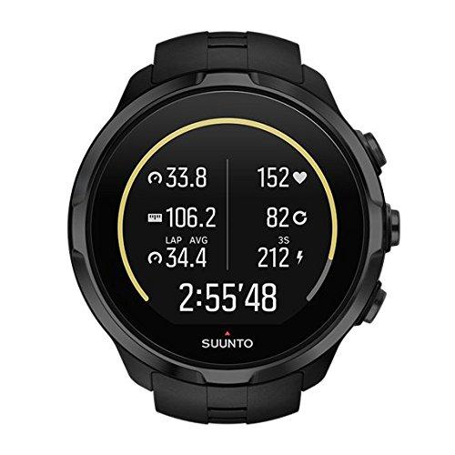 Suunto Spartan Sport Wrist Hr, Orologio GPS Unisex – Adulto, Nero, Taglia Unica