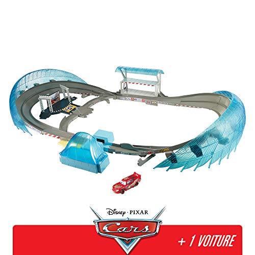 Disney Pixar Cars Grand Circuit de Floride pour course de voitures, avec Booster,...