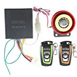 RISHIL WORLD 125db Remote Control Motorcycle Bike Anti Theft Security Safety Alarm System