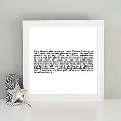 Regalo para tu mejor amigo Frase enmarcada para tu mejor amigo Poema enmarcado para tu mejor amigo