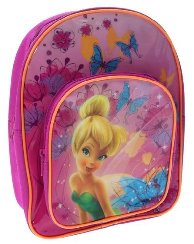Pink Disney Fairy Kindergarten Bag Kids Travel Rucksack ()