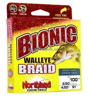 Northland Tackle BWB100-15-IC Bionic Braid Line Bionic Braid Schnur, 6,8 kg, Indikator Camo, 45,5 m - Ic-line