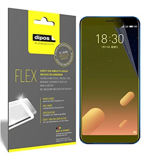 dipos I 3X Schutzfolie 100% passend für Meizu M6S Folie (Vollständige Displayabdeckung) Displayschutzfolie