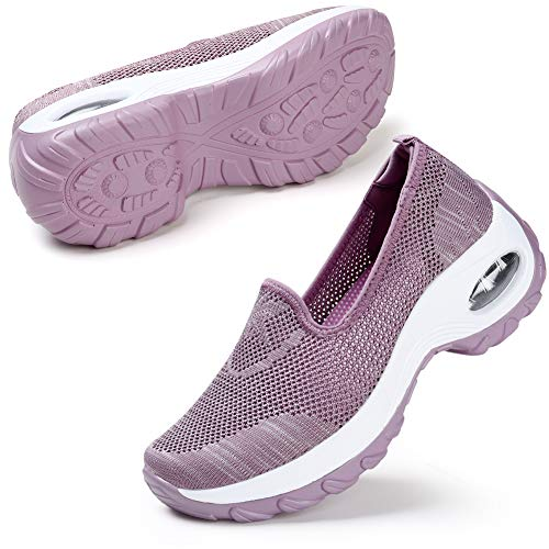 Women Slip on Walking Shoes Plat...