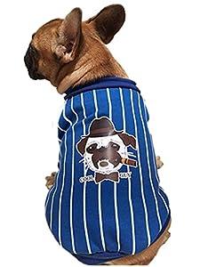 vêtement Chien Angelof Manteau Habit Pour Chiot Taureau Mignon Chien Manteau Coton Sport Style VêTements De Chien Cool