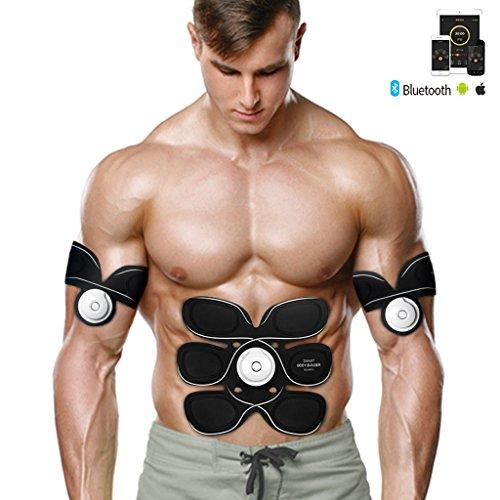 K-Y Elektrostimulatoren EMS Bauchtrainer, abdominaler Verstellbarer Gürtel Fitnesstraining