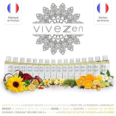 Vivezen ® Huile de massage, modelage 100% végétale - Fait en France - 1L - Orient
